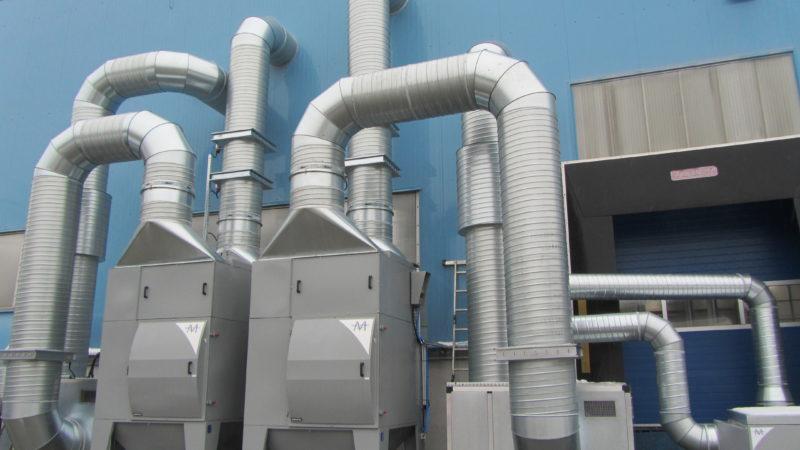 Odsávání svařoven a průmyslových hal