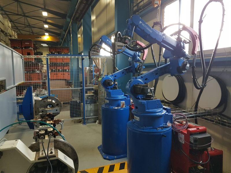 Zprovoznění staršího svařovacího pracoviště YASKAWA pro firmu CIE UNITOOLS
