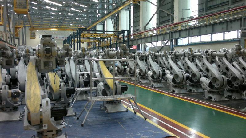 Roboty Hyundai a náhradní díly