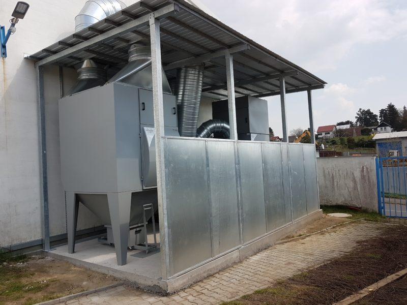 Další úspěšná instalace celoplošného odsávání systémem TCL