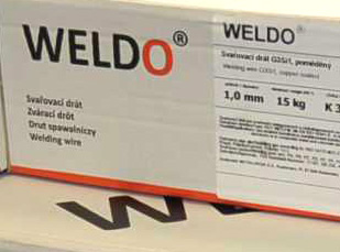 Produkty pod značkou WELDO