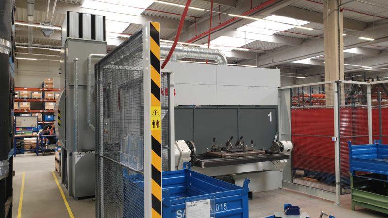 Dodávka odsávání pro robotizované svařovací pracoviště