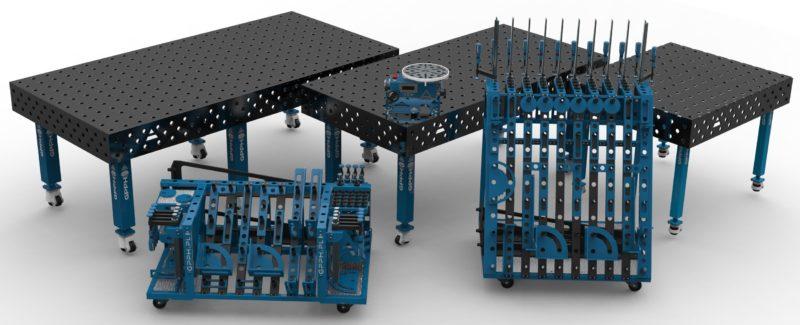 Svařovací stoly GPPH